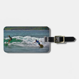 Surfing Tamarindo Luggage Tag