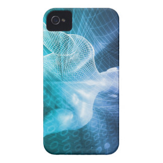 Surfing the Web or Internet as a Digital Concept iPhone 4 Cases