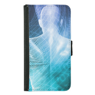 Surfing the Web or Internet as a Digital Concept Samsung Galaxy S5 Wallet Case