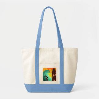 Surfing Tote Tote Bag