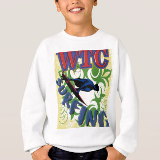 surfing tribal sweatshirt