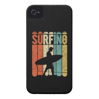 Surfing Vintage Case-Mate iPhone 4 Case