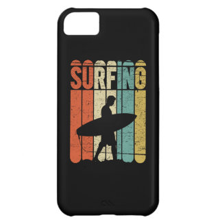 Surfing Vintage iPhone 5C Cover