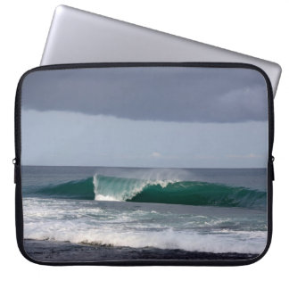 Surfing Wave Reef Break Laptop Sleeve