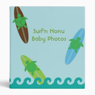 Surf'N Honu Binder - Sea Turtles & Surfboards