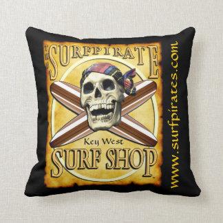 surfpirate surf shop pillow