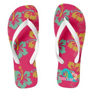 Surf's Up Beach Flip Flops