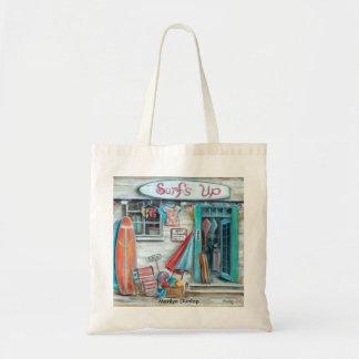 Surfs Up Budget Tote Bag