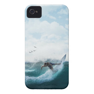 Surfs Up iPhone 4, Barely There Phone Case