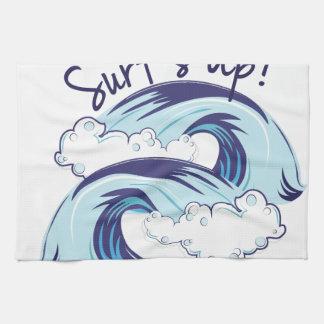 Surfs Up Kitchen Towel