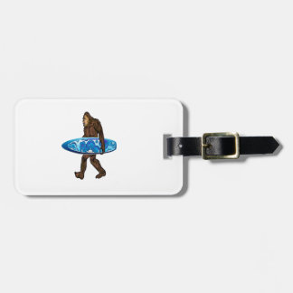 Surfs Up Luggage Tag