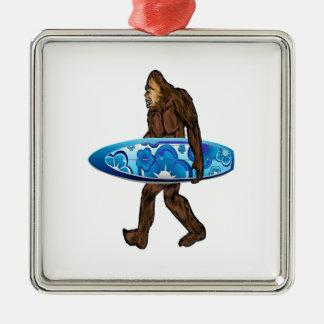 Surfs Up Metal Ornament