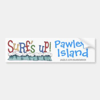Surf's Up - Pawleys Island by SRF Bumper Sticker