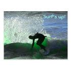 Surf's up! postcard