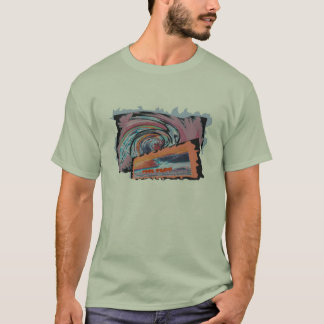 Surfs Up Stone Graphic Tee