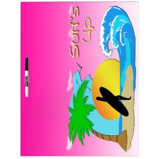 Surfs Up - Surfer Girl Dry Earse Board 1 Dry-Erase Board