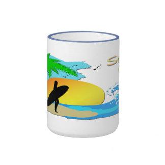 Surfs Up - Surfer Girl Mug