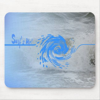 Surf's Up Wave mousepad