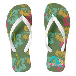 Surf's Up Women's Flip Flops