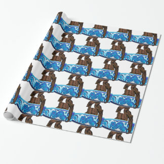 Surfs Up Wrapping Paper
