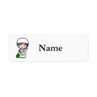 Surgeon 2 return address label