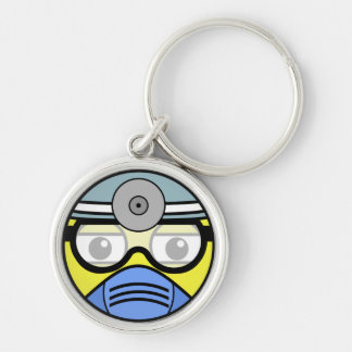 Surgeon Face Keychain