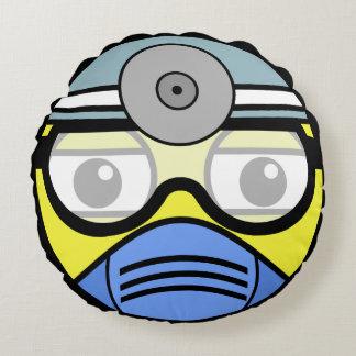 Surgeon Face Round Pillow