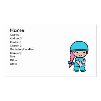Surgeon Girl Business Card