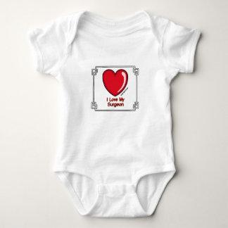 Surgeon - I Love My Baby Bodysuit