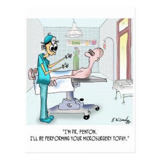 Surgery Cartoon 9369 Postcard