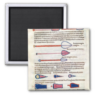 Surgical instruments from a treatise magnet