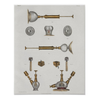 Surgical Medical Instruments Vintage Anatomy Print