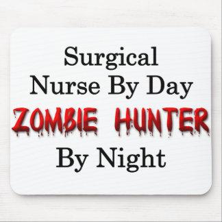 Surgical Nurse/Zombie Hunter Mouse Pad