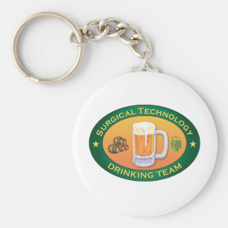 Surgical Technology Drinking Team Keychain