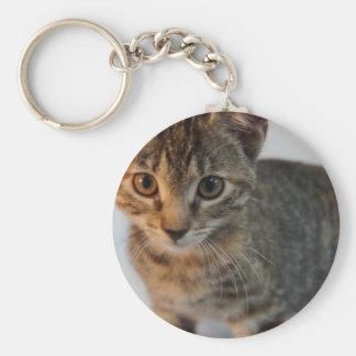 Suri Basic Round Button Keychain