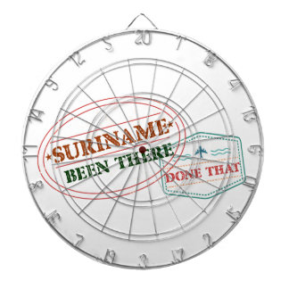Suriname Been There Done Dartboard