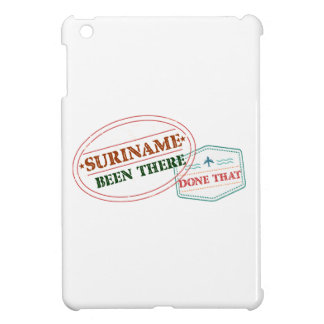 Suriname Been There Done iPad Mini Covers