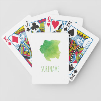 Suriname Bicycle Playing Cards