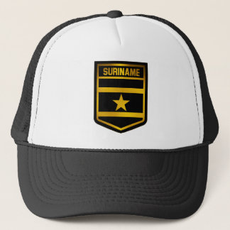 Suriname Emblem Trucker Hat