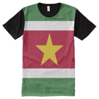 Suriname Flag All-Over-Print T-Shirt