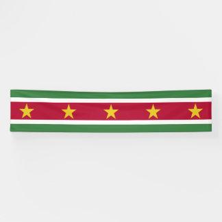 Suriname Flag Banner