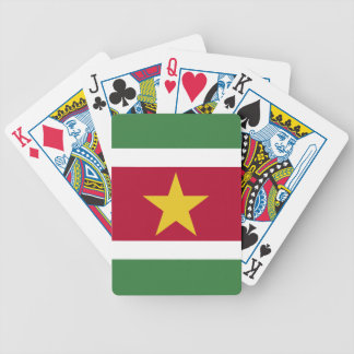 Suriname Flag Bicycle Playing Cards