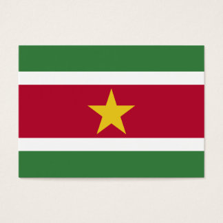 Suriname Flag Business Card
