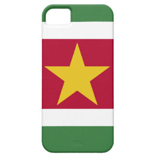 Suriname Flag Case For The iPhone 5