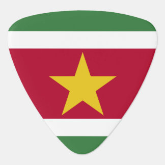 Suriname Flag Guitar Pick
