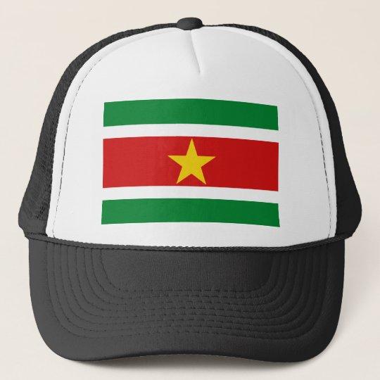 Suriname Flag Hat
