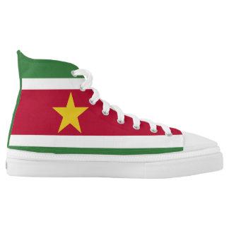 Suriname Flag High Tops