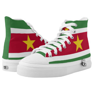 Suriname Flag High Tops