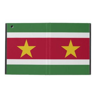 Suriname Flag iPad Cover
