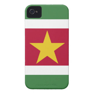 Suriname Flag iPhone 4 Case